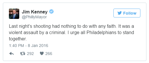 Kenney Tweet Not Islam